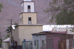 10. Iglesia Nuestra Señora de El Tránsito, poblado El Tránsito, Huasco Alto.
