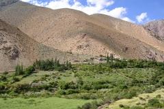 4. Villorrio de Junta de Valeriano, valle del Huasco Alto.