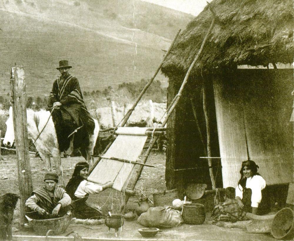 Ambiente y Localización   Mapuche   Chile Precolombino