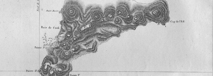 Mapa de Rapa Nui.