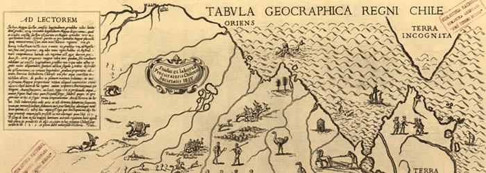 Tabula Geographica Regni de Chile