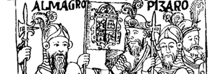 Diego de Almagro y Francisco de Pizarro.