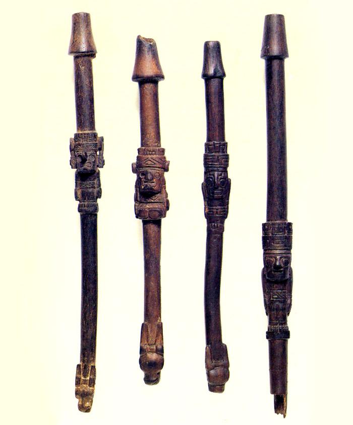 Tubos Cultura San Pedro 600-900 d.C.