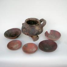 Vajilla inkaica, Collacagua. Fotografía, Archivo José Berenguer, Proyecto Fondecyt 1050276